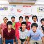 生徒たちと集合写真
