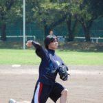 スポーツ大会での鈴木次長(2011年社員旅行)