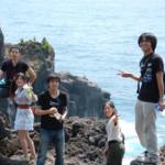 城ヶ崎海岸にて(社員旅行)
