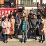 2017年初詣(西新井大師)