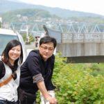 古島会長と小林常務(2008年社員旅行)